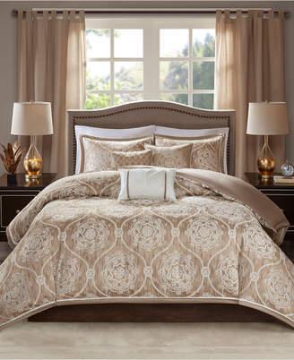 Madison Park Dora 6-Pc. King/California King Duvet Cover Set Bedding