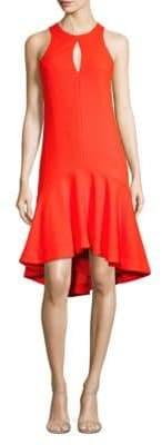 Trina Turk Petal Keyhole Dress