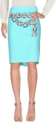Moschino Cheap & Chic MOSCHINO CHEAP AND CHIC Knee length skirts - Item 35340287CP