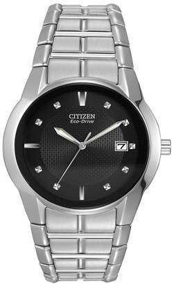Citizen Men's Eco-Drive Stainless Bracelet Watch, 37mm