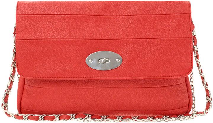 Oasis Panelled Chain Shoulder Bag