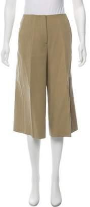 Cédric Charlier Mid-Rise Wide-Leg Pants
