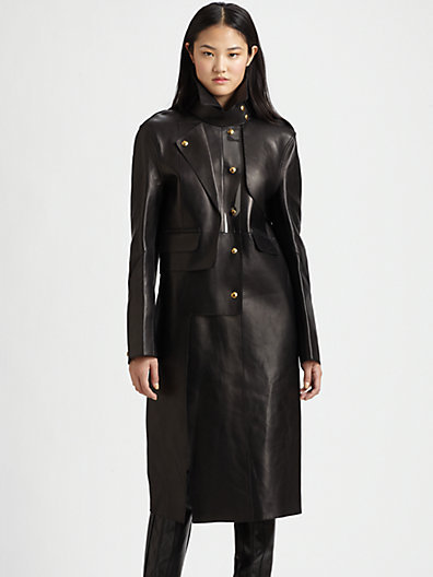 Alexander Wang Leather Trenchcoat