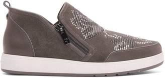 Donald J Pliner MYLASP, Embellished Suede Sneaker