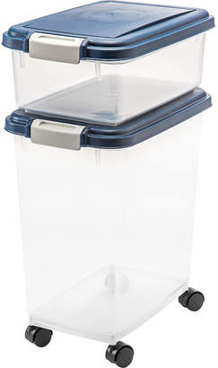 Iris Airtight 2 Container Food Storage Set