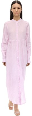 Gioia Bini EMMA LONG LINEN SHIRT DRESS