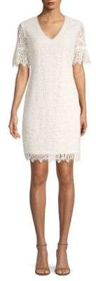 Trina Turk California Dreaming Crochet Shift Dress