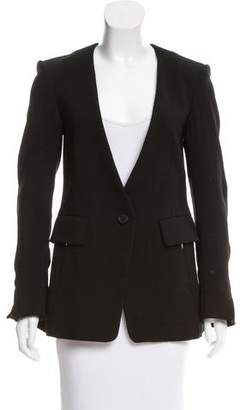 Maiyet Fitted Collarless Jacket
