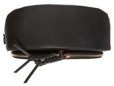 Sole Society 'Thalia' Crossbody Bag - Black