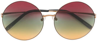 Matthew Williamson round multicoloured sunglasses
