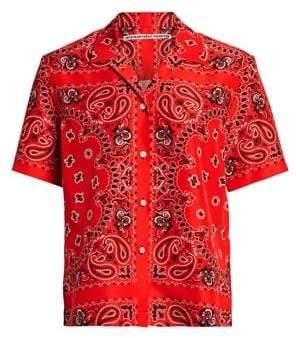 Alexander Wang Bandana Hawaiian Print Shirt
