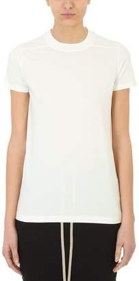 Drkshdw Milk Cotton Crew Level Short T-shirt