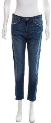 Etoile Isabel Marant High-Rise Boyfriend Jeans