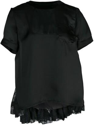 Sacai short sleeved top