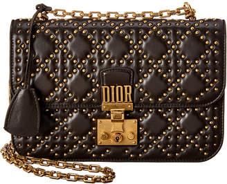 Christian Dior Dioraddict Studded Leather Shoulder Bag