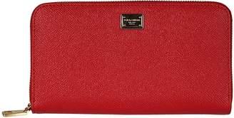 Dolce & Gabbana Dauphine Zip Around Wallet