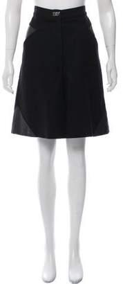 Chanel Knee-Length Wool Shorts