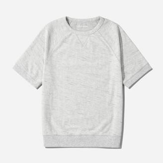 The Reverse French Terry Sweat Tee $35 thestylecure.com