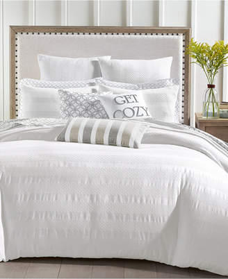 Charter Club Basket Stripe Duvet Cover Sets, Created for Macy's & Reviews - Bedding Collections - Bed & Bath - Macy's