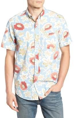J.Crew J. Crew Regular Fit Floral Print Sport Shirt