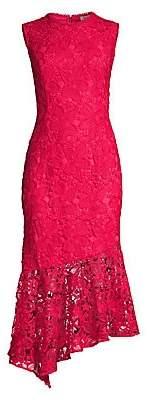 Shoshanna Women's Gabriola Lace Midi Dress
