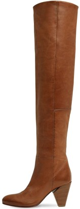 Strategia 80MM LEATHER OVER THE KNEE BOOTS