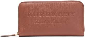 Burberry (バーバリー) - Burberry エンボス&ペブル加工レザー コンチネンタルウォレット