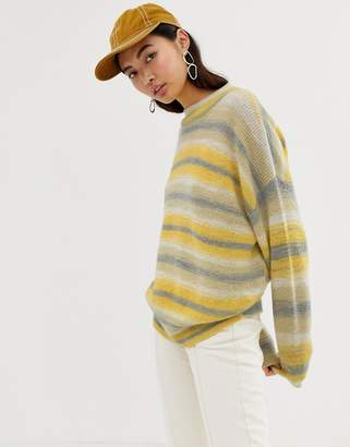 Weekday space dye knitted jumper