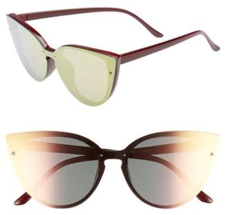 BP 52mm Flat Cat Eye Sunglasses