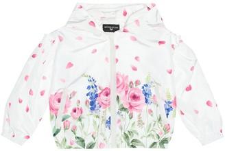 MonnaLisa Floral-printed jacket