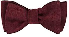 Barneys New York Men's Marled Silk Bow Tie-Red