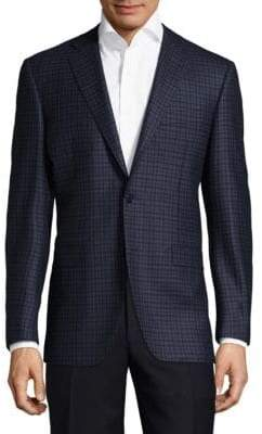 Canali Patterned Wool Sportcoat