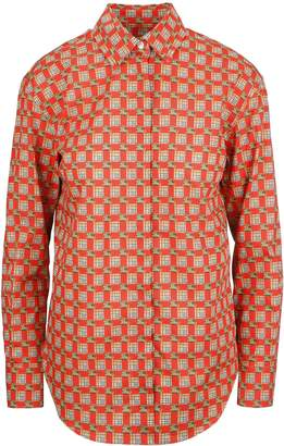 Burberry Tiled Archived Printed Shirt
