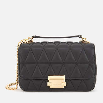 MICHAEL Michael Kors Women's Pyramid Quilted Chain Shoulder Bag