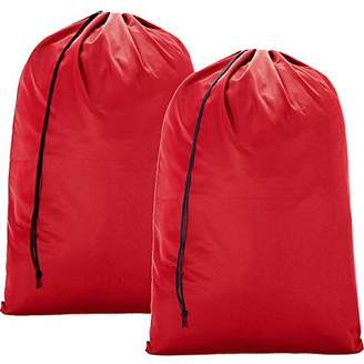 Laundry by Shelli Segal BGTREND 2 Pack Extra Large Travel Bag [28''×40''] Machine Washable Sturdy Rip-Stop Material with Drawstring Closure