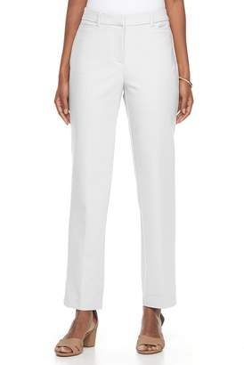 Dana Buchman Women's Slim Straight-Leg Pants