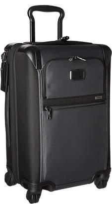 Tumi Alpha International Expandable 4 Wheel Carry-On Carry on Luggage