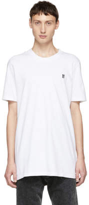 11 By Boris Bidjan Saberi White Small Logo T-Shirt