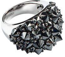 Black Diamond Mattioli 18k Spiked Ring