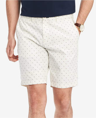 """Tommy Hilfiger Men's Square Geo 9"""" Classic Fit Shorts, Created for Macy's"""