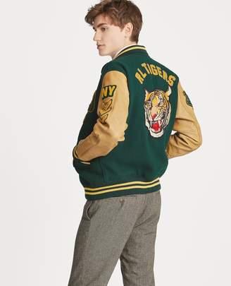 Ralph Lauren Wool-Blend Letterman Jacket