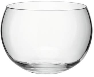 LSA International Tall Rounded Clear Glass Serving Bowl