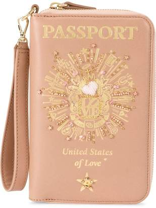 Preciously Passport zip around wallet