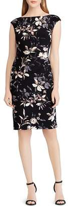Ralph Lauren Petites Floral Jersey Dress