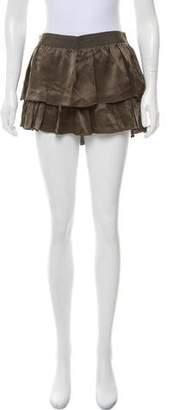 Flannel Silk Mini Shorts w/ Tags