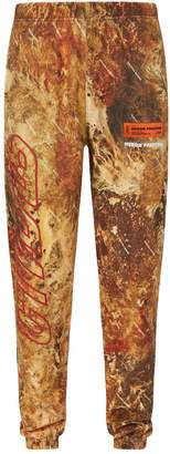 Heron Preston Camouflage Sweatpants