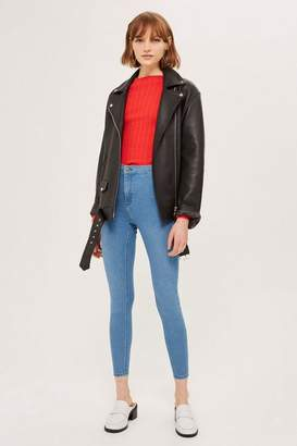 Topshop MOTO Authentic Blue Joni Jeans