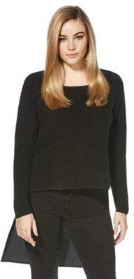Only Redford Ribbed Dipped Hem Jumper XL