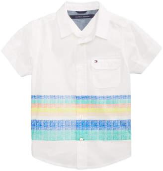 Tommy Hilfiger Zachary Striped Cotton Shirt, Little Boys