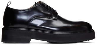 Eytys Black Leather Kingston Derbys